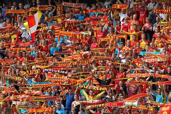 Supporters Lensois - Source : La Voix du Nord