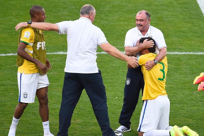 Thiago Silva en pleurs