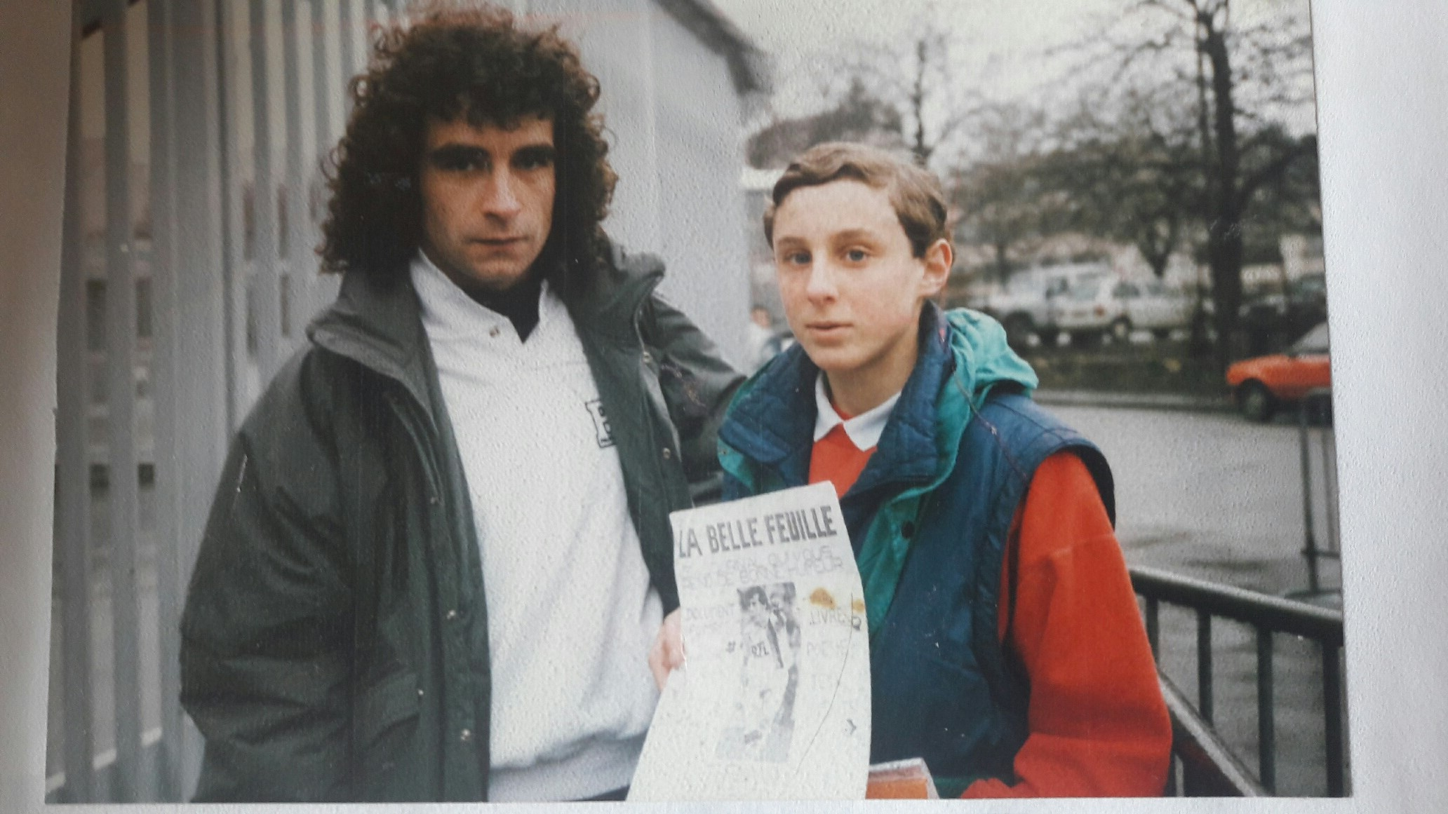 Arnaud Ramsay et Dominique Rocheteau
