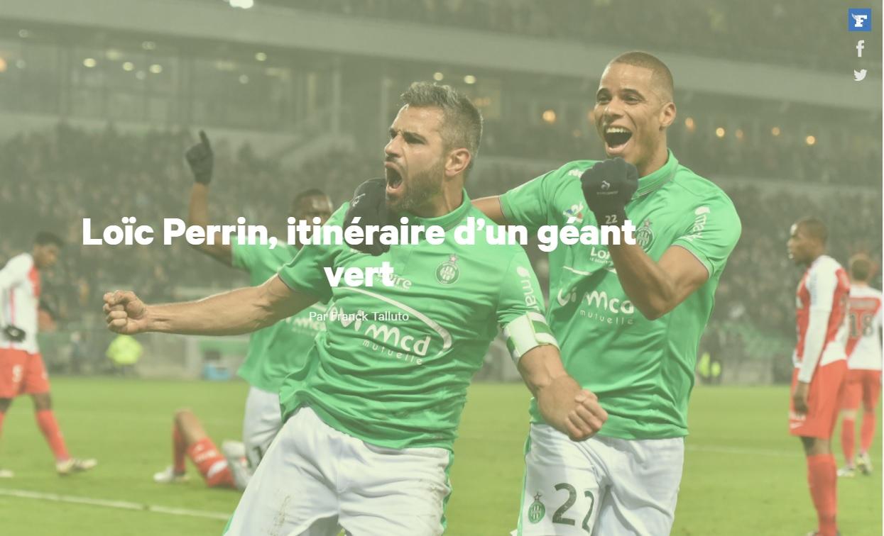 Loic Perrin Itinéraire d'un géant vert