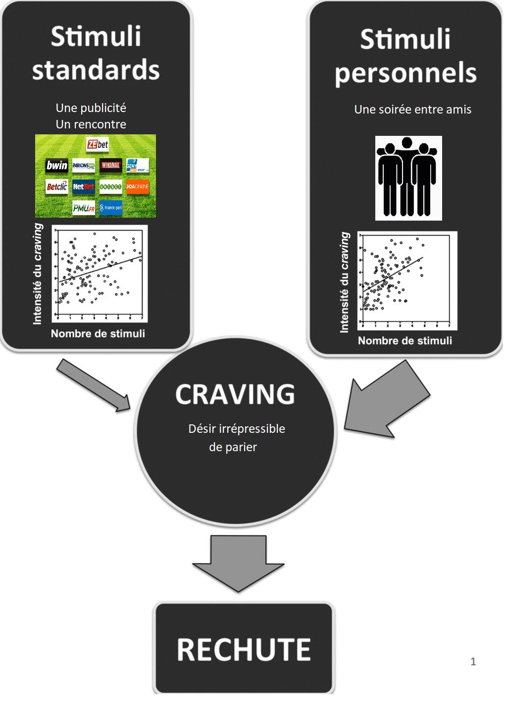Implication de l'environnement et du craving dans le processus de la rechute